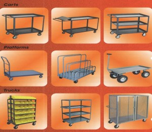 industrial steel carts & trucks