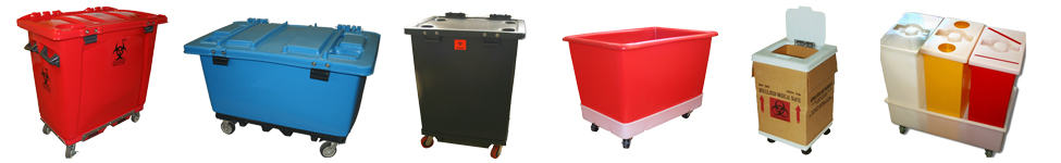 custom fabricated plastic totes
