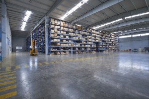 Pallet Racks help with warehouse organization