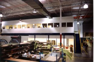 Modular offices for warehouses in Pennsylvania & New Jersey