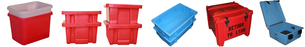 custom fabricated plastic tote boxes