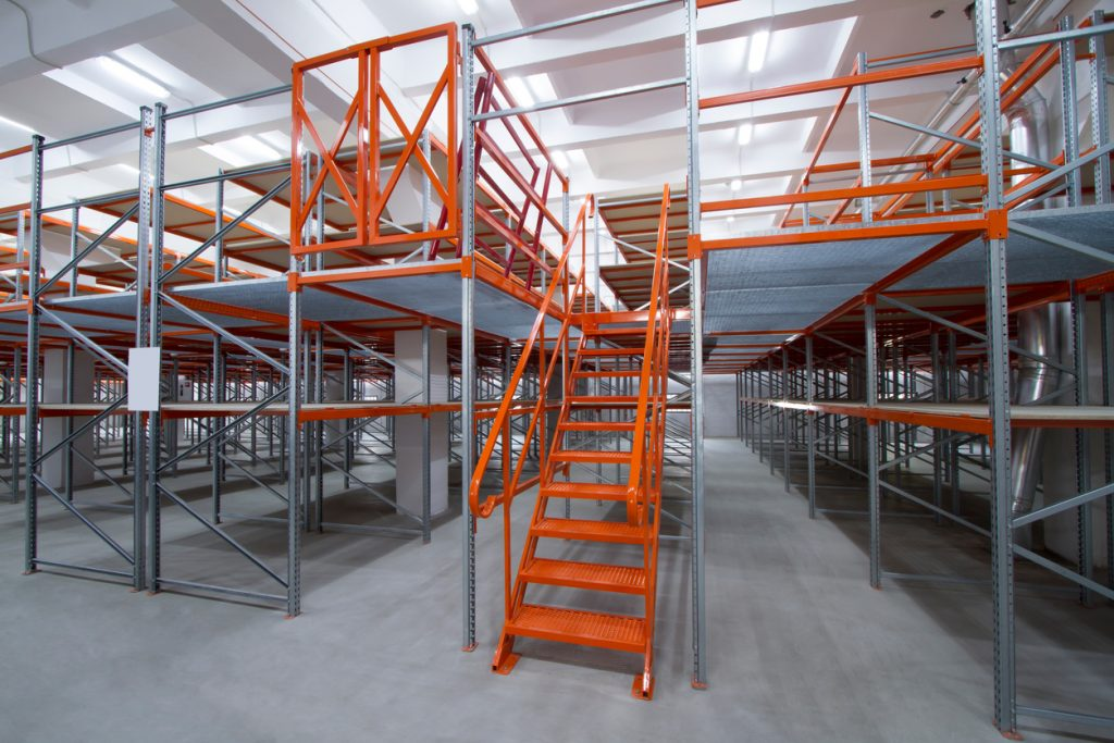 orange mezzanine